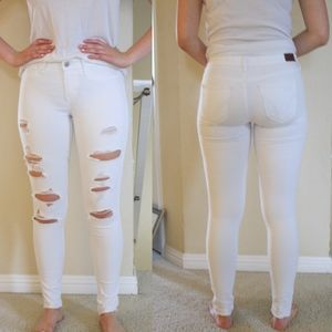 Hollister Distressed Jeggings